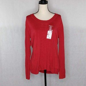 White Stag Sweater – Red – XXL NWT